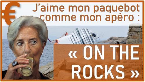 J'aime mon paquebot Euro commme mon apero : On the Rocks !